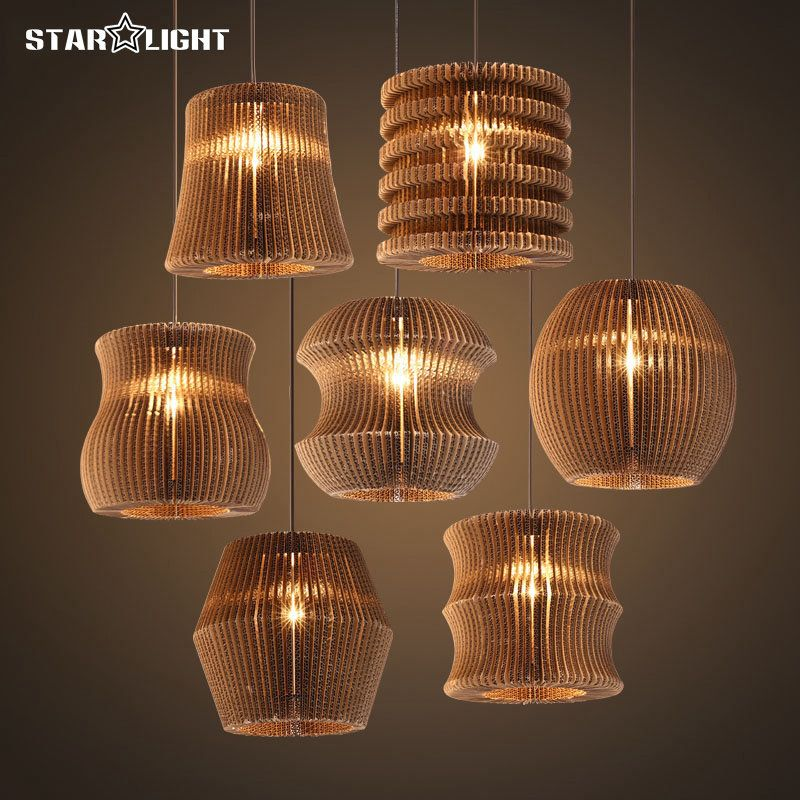 Retro design christmas pendant lights special hanging multiple retro design christmas pendant lights special hanging multiple shapes paper lamp shade bedroom decoration warm atmosphere mozeypictures Image collections