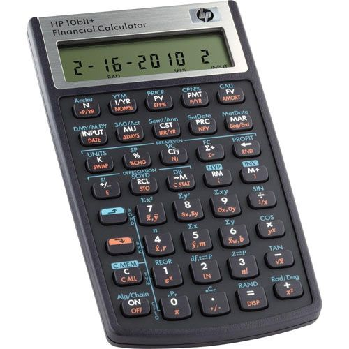 3 HP 10bII Financial Calculator Financial \ Business Office - financial calculator