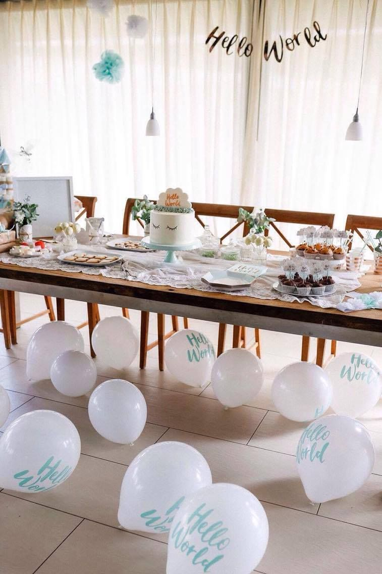 Babyparty Junge Deko Baby Shower Baby Party I It S A Boy I It S A Girl I Feier I Junge