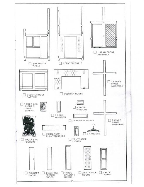 1978 Dream House Dreamhouse A Frame Unfurnished Instructions