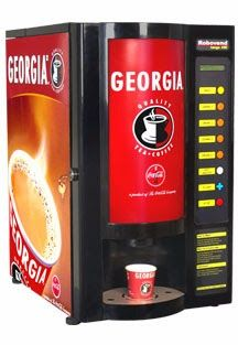 Georgia Tea Coffee Vending Machine Water Milk Boiler Offered By Rajat Enterprises And Dealer In Delhi Ncr