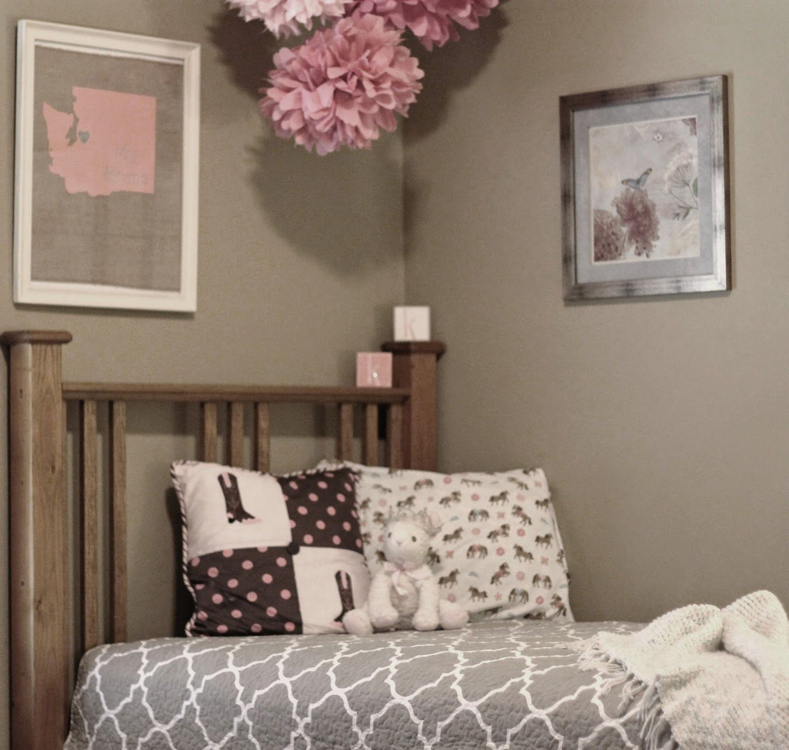 Country Girl Bedroom For A Little Lady Http://northwestcharm.blogspot.com