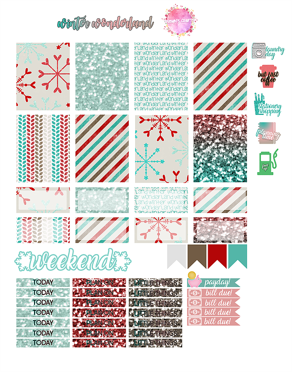 Free Winter Wonderland Printable