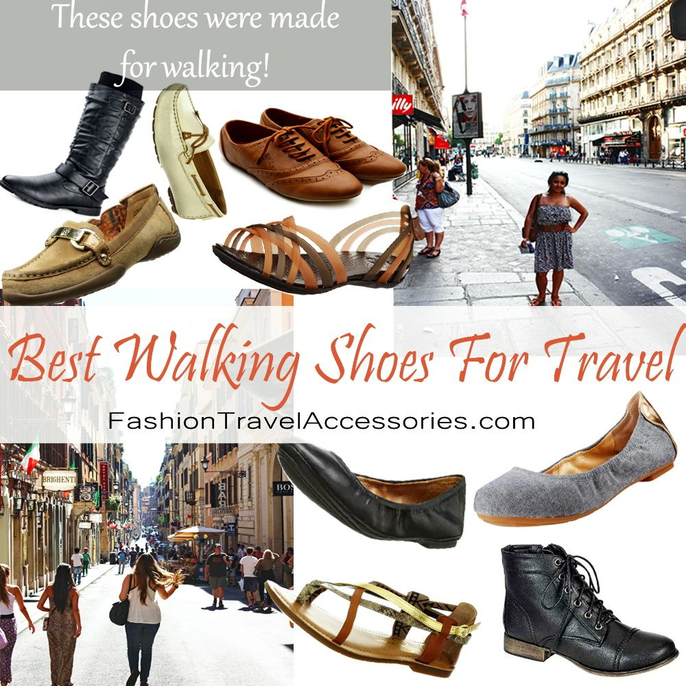 Top 5 Best Walking Shoes For Travel