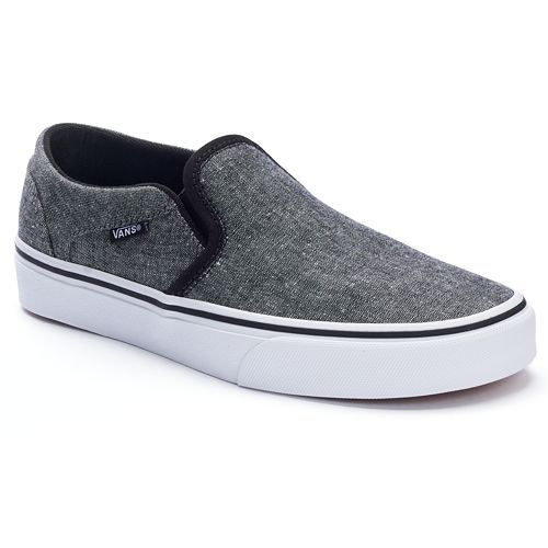 Vans Asher Women's Slip-On Skate Shoes