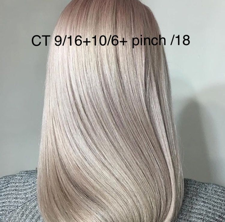 Wella Blonde Toner Formula Shit I Like Pinterest Graue Haare