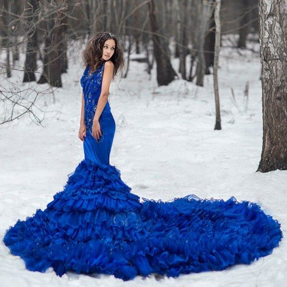 100 Adorable Blue Wedding Dresses