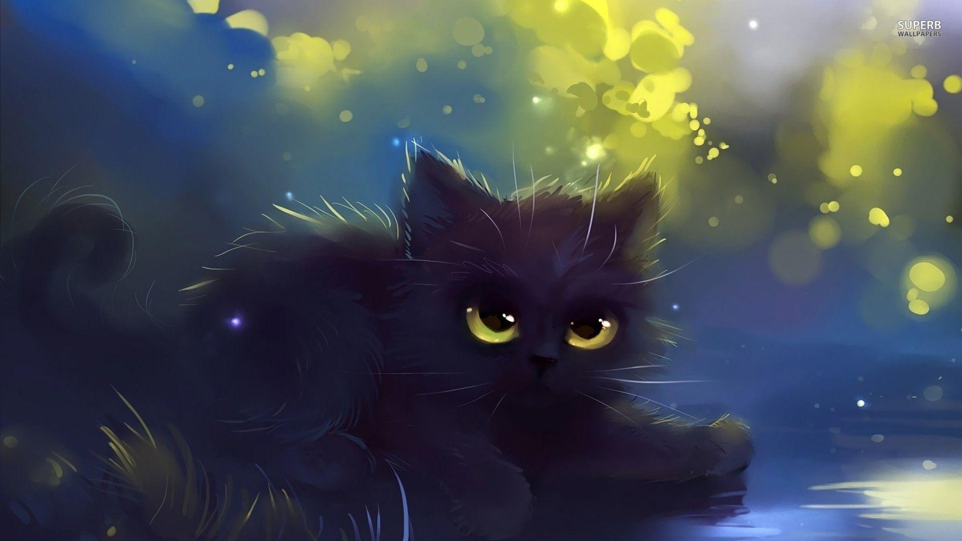 Pin Von Barbara Ingram Auf Cats Artistic Schwarze Katze Kunst