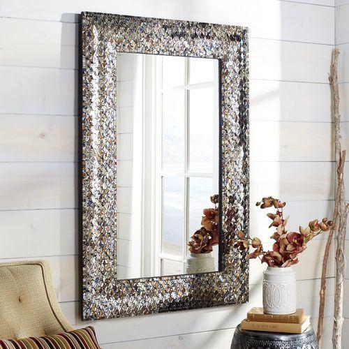 Avalon Golden Mosaic 32x48 Mirror In 2018 Bathroom Decor And Ideas