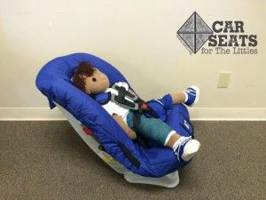 A Huggable Images Doll In Cast Is Modelling Hippo Car Seat Check Out The Link For More Info About Seats Kids With Special Considerations