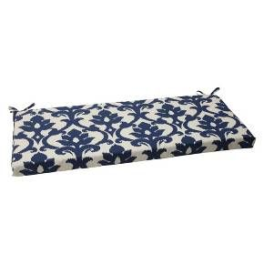 Outdoor Bench Cushion Blue White Damask Patio Bench Cushions Bench Cushions Outdoor Bench