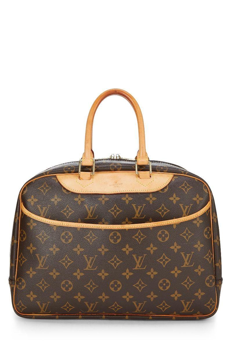 Pre Owned Louis Vuitton Monogram Canvas Deauville Modesens In 2020 Louis Vuitton Louis Vuitton Handbags Vuitton