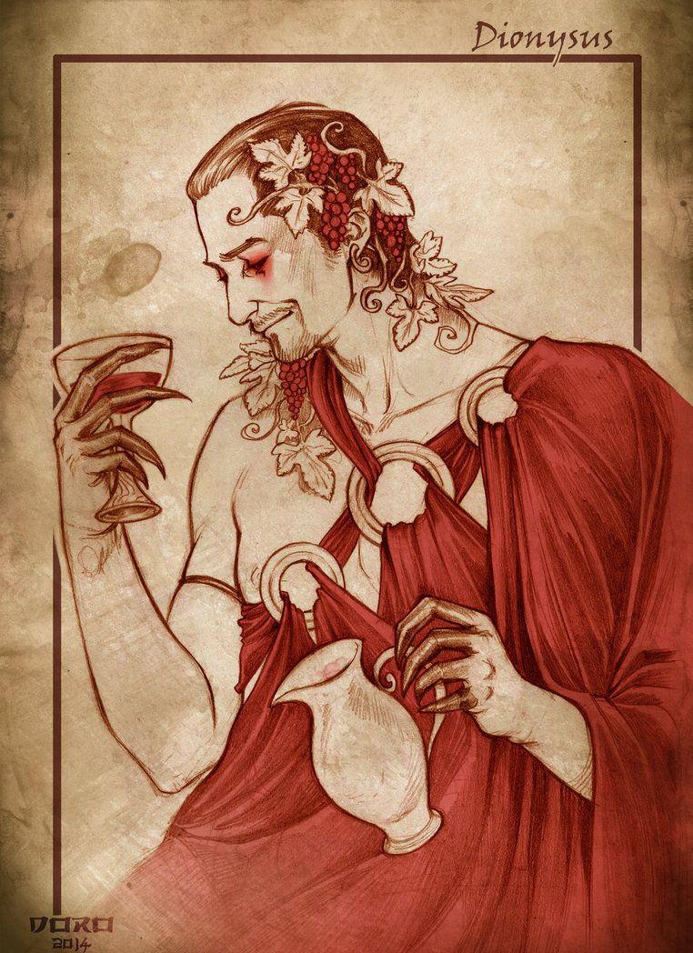 Dionysus By Doroxdoro On Deviantart Greek And Roman Mythology Dionysus God Greek Gods And Goddesses