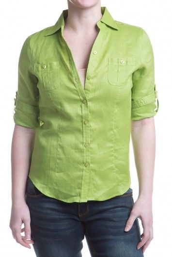 Type 3 Josie Top - like the color and fit in linen