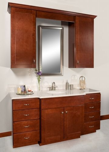 birch bathroom vanities. Standard Bathroom Vanities - Newberry Birch Rouge Finish .
