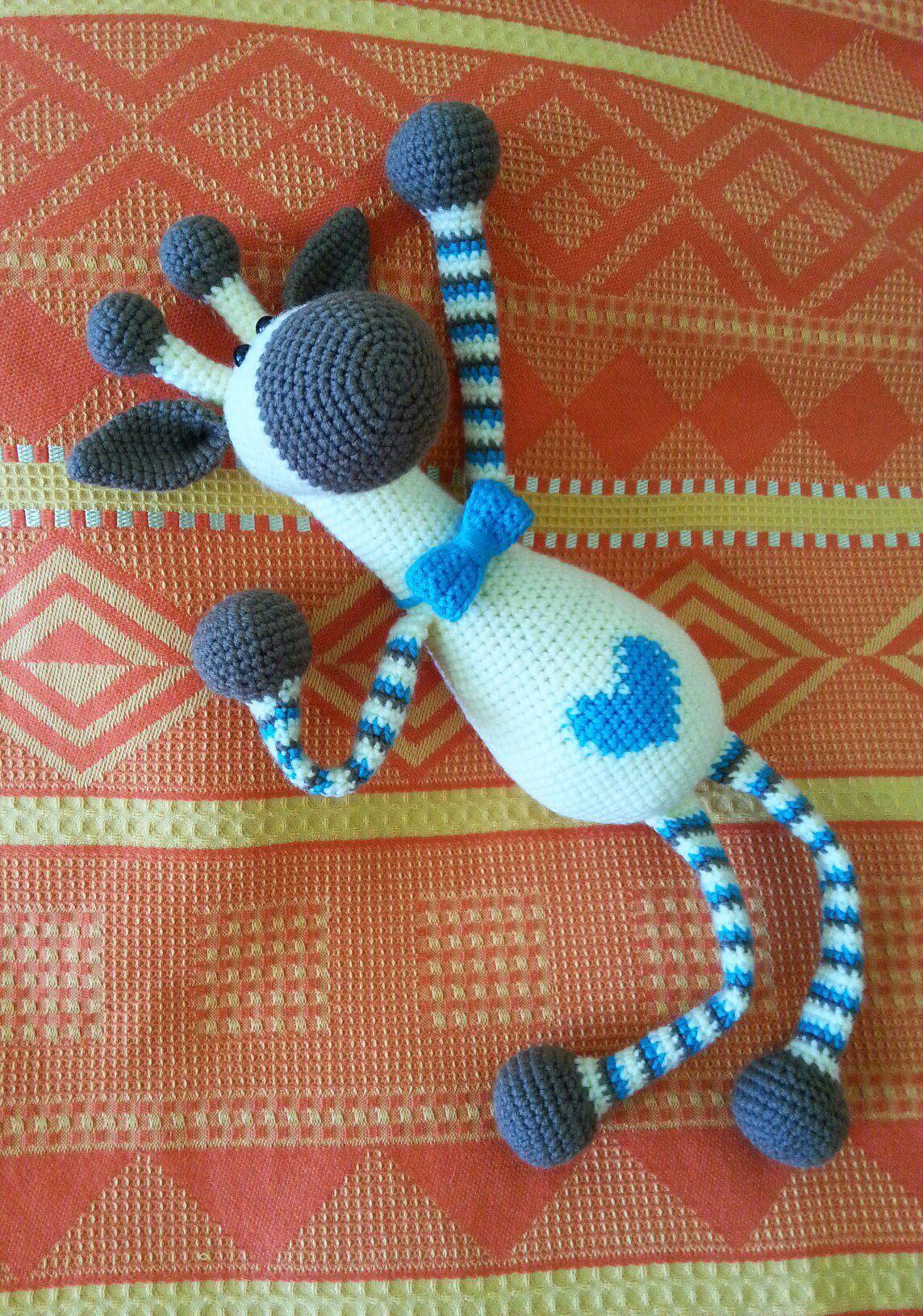 Giraffe baby rattle crochet pattern | Giraffe crochet, Crochet ... | 1632x1144