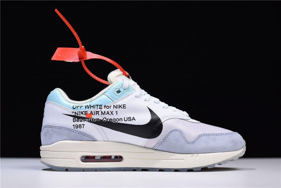 "2018 Off White x Nike Air Max 90 ""Camo"" SailWhite Muslin On Sale"