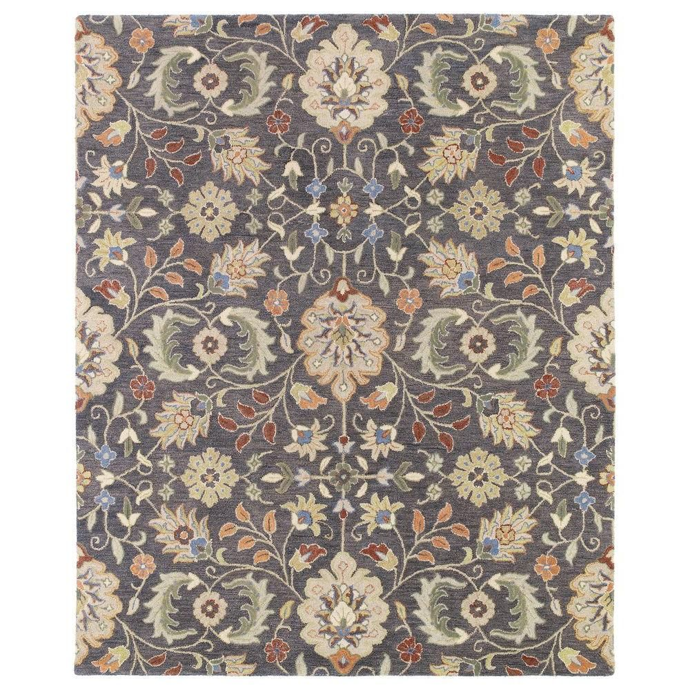 Kaleen Helena Pewter 12 Ft X 15 Ft Area Rug 3201 73 1215 The Home Depot Wool Area Rugs Hand Tufted Rugs Kaleen