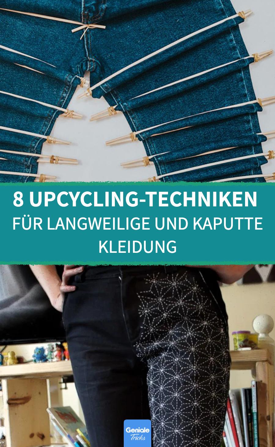 8 Upcycling-Ideen, die alte Kleidung besser als neu machen