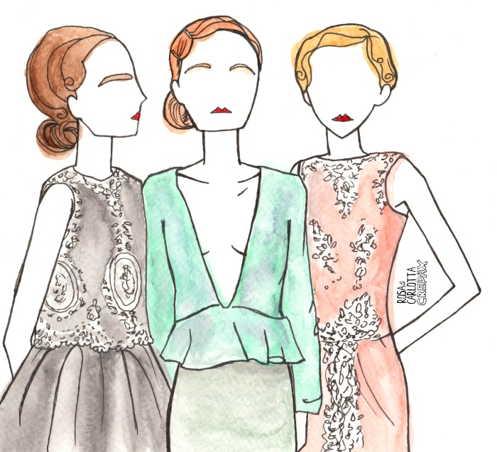 Illustrated Moodboard: Hema Kaul Autumn Winter 2014
