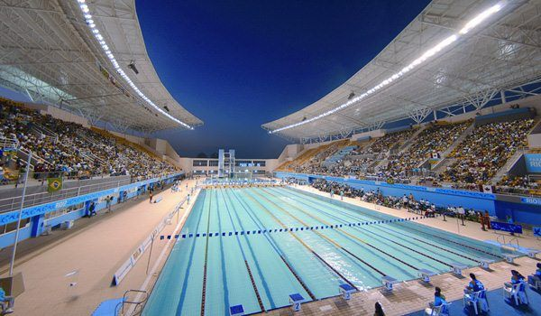 The Maria Lenk Aquatic Center Is Rios Choice To Host Diving And Water Polo At Rio Olympic SwimmingAmerican
