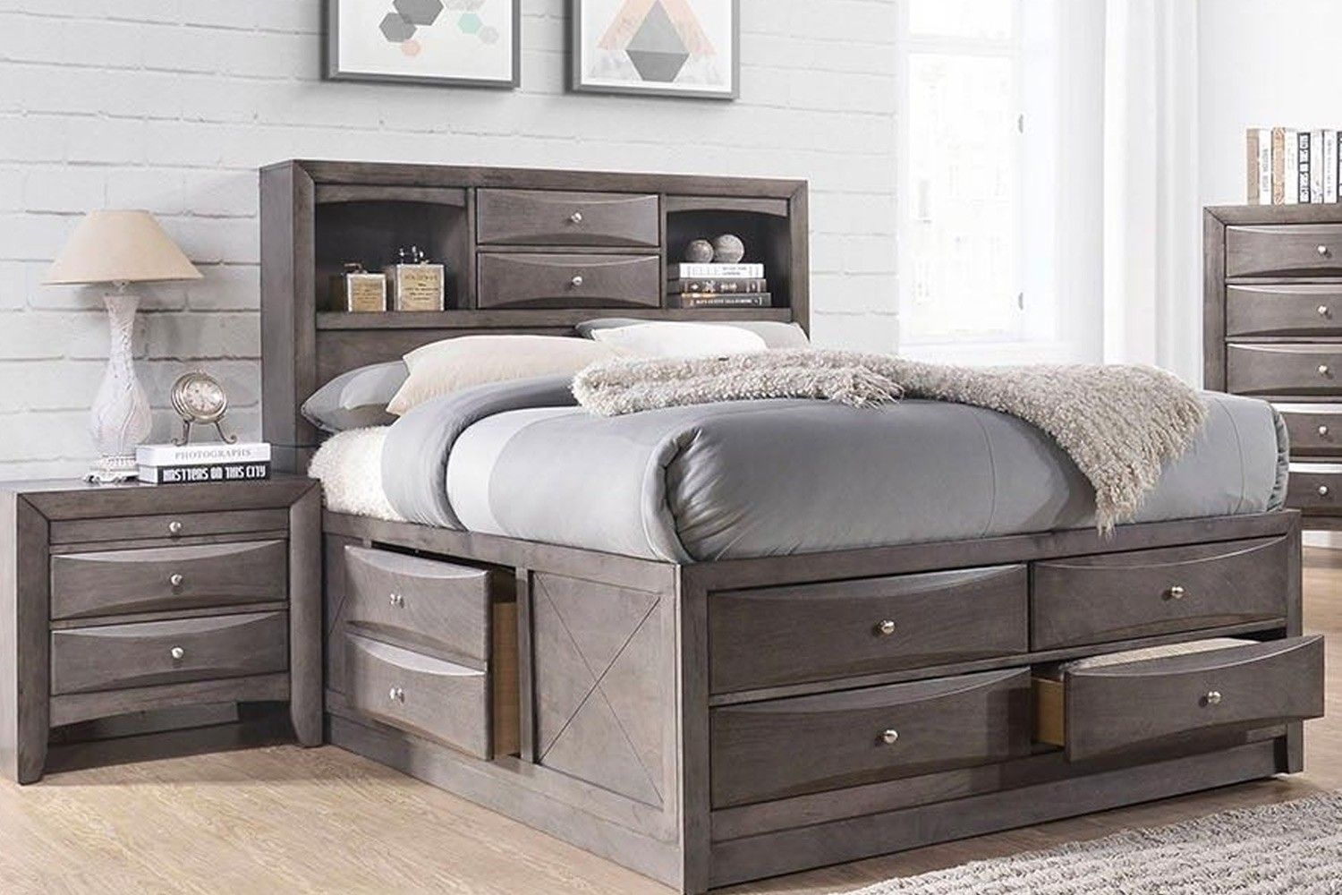Remi Full Storage Bed Media Image 2 Full Bed With Storage