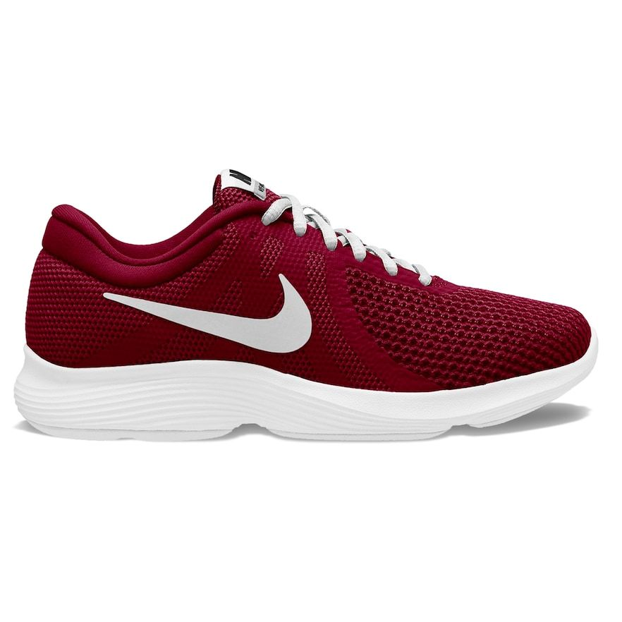 red nike womens running shoes