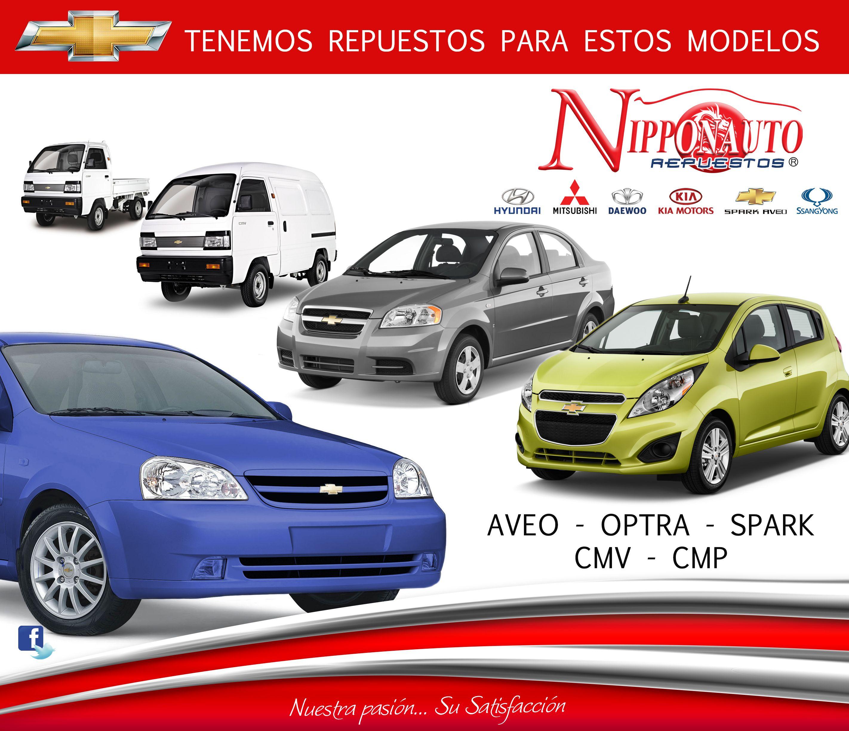 Tenemos Repuestos Para Estos Modelos De Chevrolet Modelos