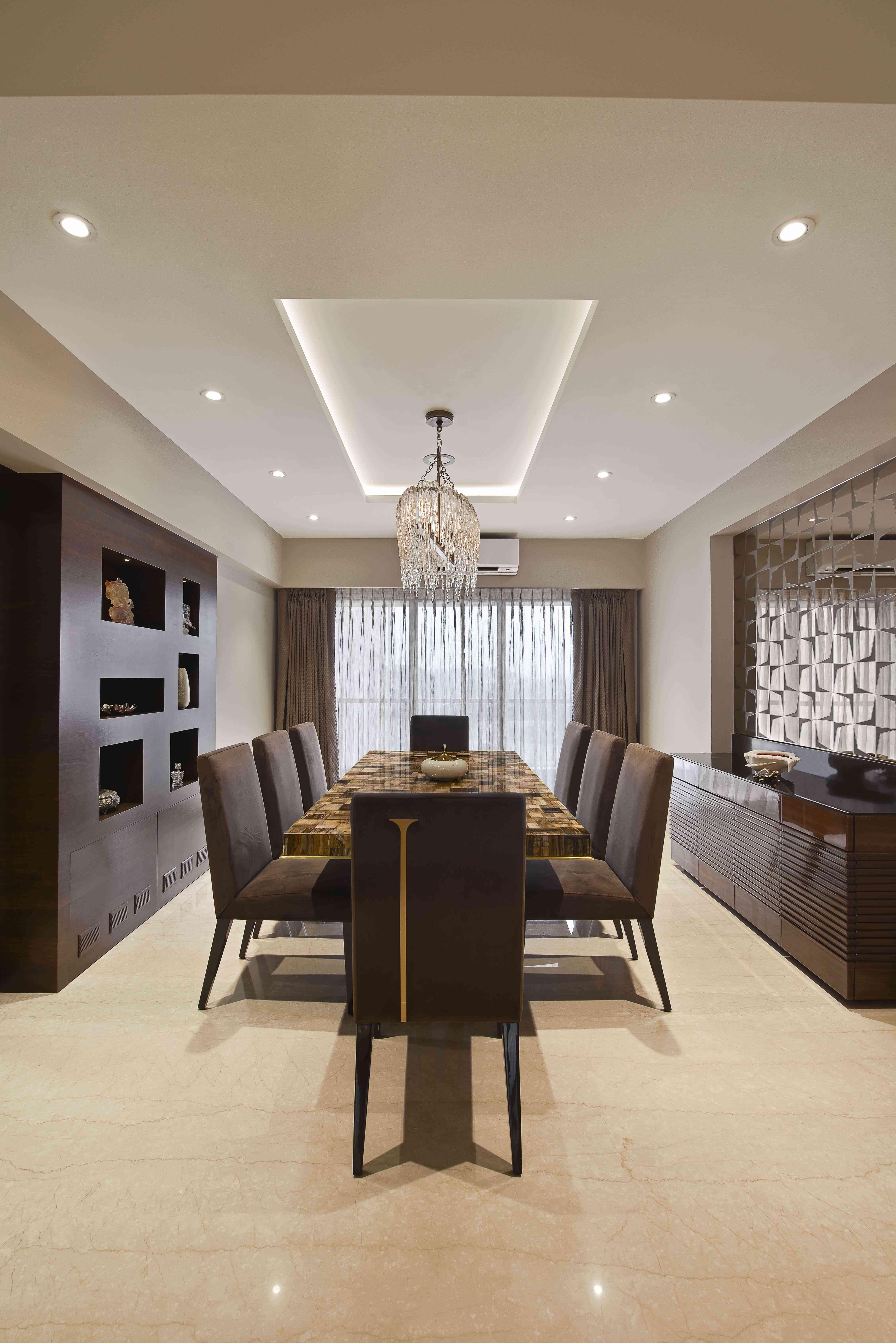 Dining room design - Milind Pai in 2019 | Living room ...