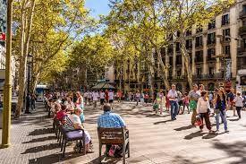 Resultado de imagen para las Ramblas en Barcelona