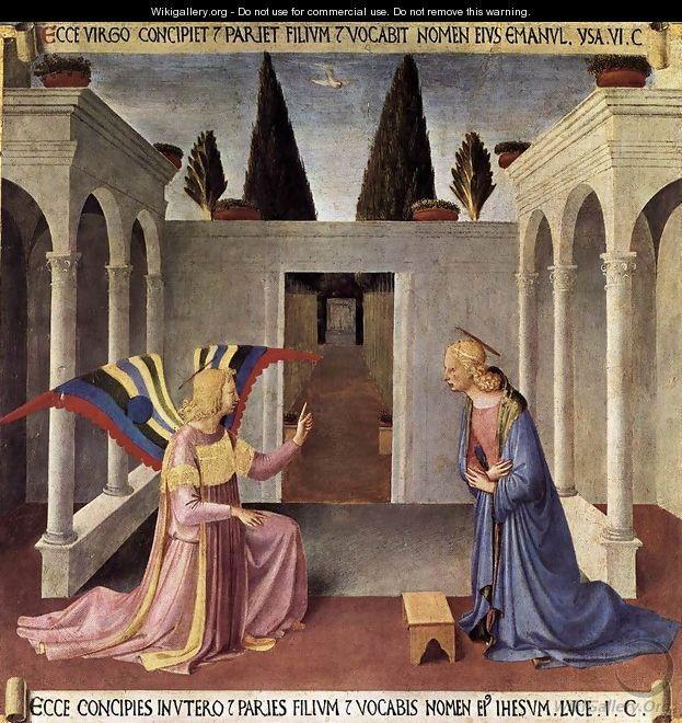Giotto Di Bondone (Italian, ca.1266-1337) ~ Annunciation ~ oil on ...