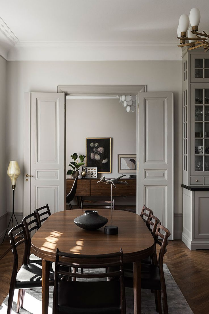 Photo of 〚 Swedish aristocratic home: Stockholm apartment with sophisticated interiors 〛 ◾ Photos ◾Ideas◾ D