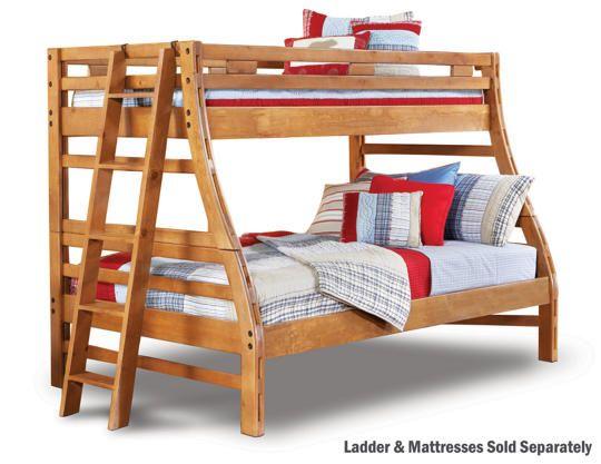 Twin Full Bunk Bed Art Van Furniture Boys Bedroom Pinterest
