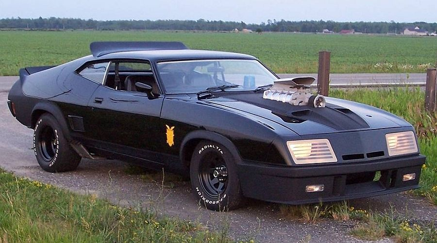the pursuit special from mad max a modified 1973 ford falcon xb gt coupe awesome rides. Black Bedroom Furniture Sets. Home Design Ideas