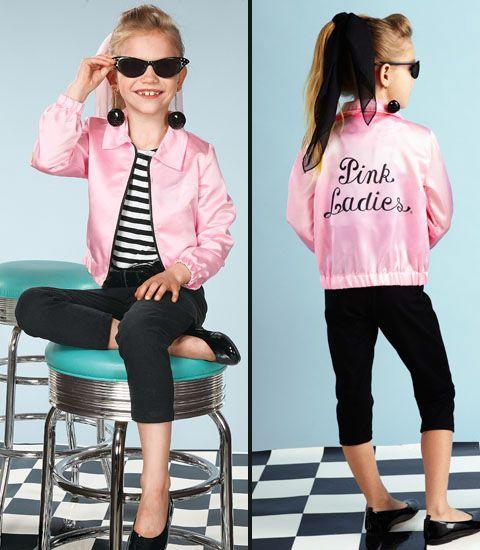 pink lady child costume halloween? Pinterest Pink lady costume - greaser halloween costume ideas