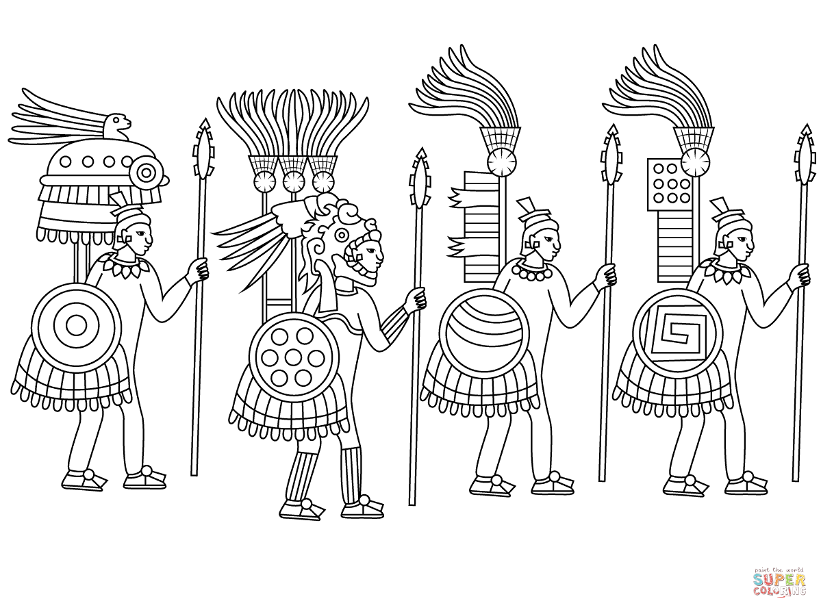 Aztec Art Coloring Pages Free Coloring Pages Aztec Art Sun Coloring Pages Coloring Pages