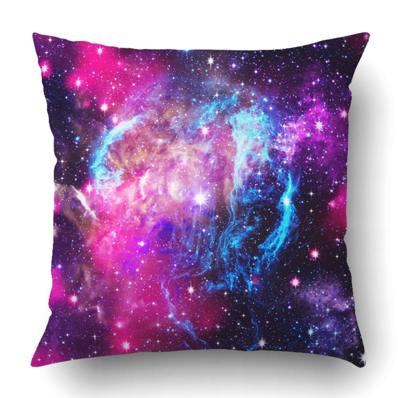 Deep Space Abstract Natural Backgrounds Pillowcase Throw Pillow Cover Case 16x16 Inches In 2020 Galaxy Room Galaxy Bedroom Small Room Design