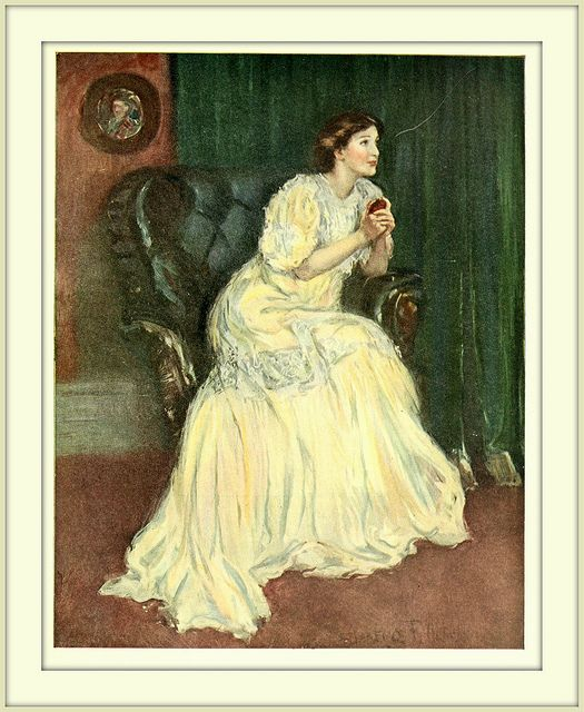 1909  Illustration - Color -  - 'Douglas, Douglas, Tender and True'   by Clarence F. Underwood