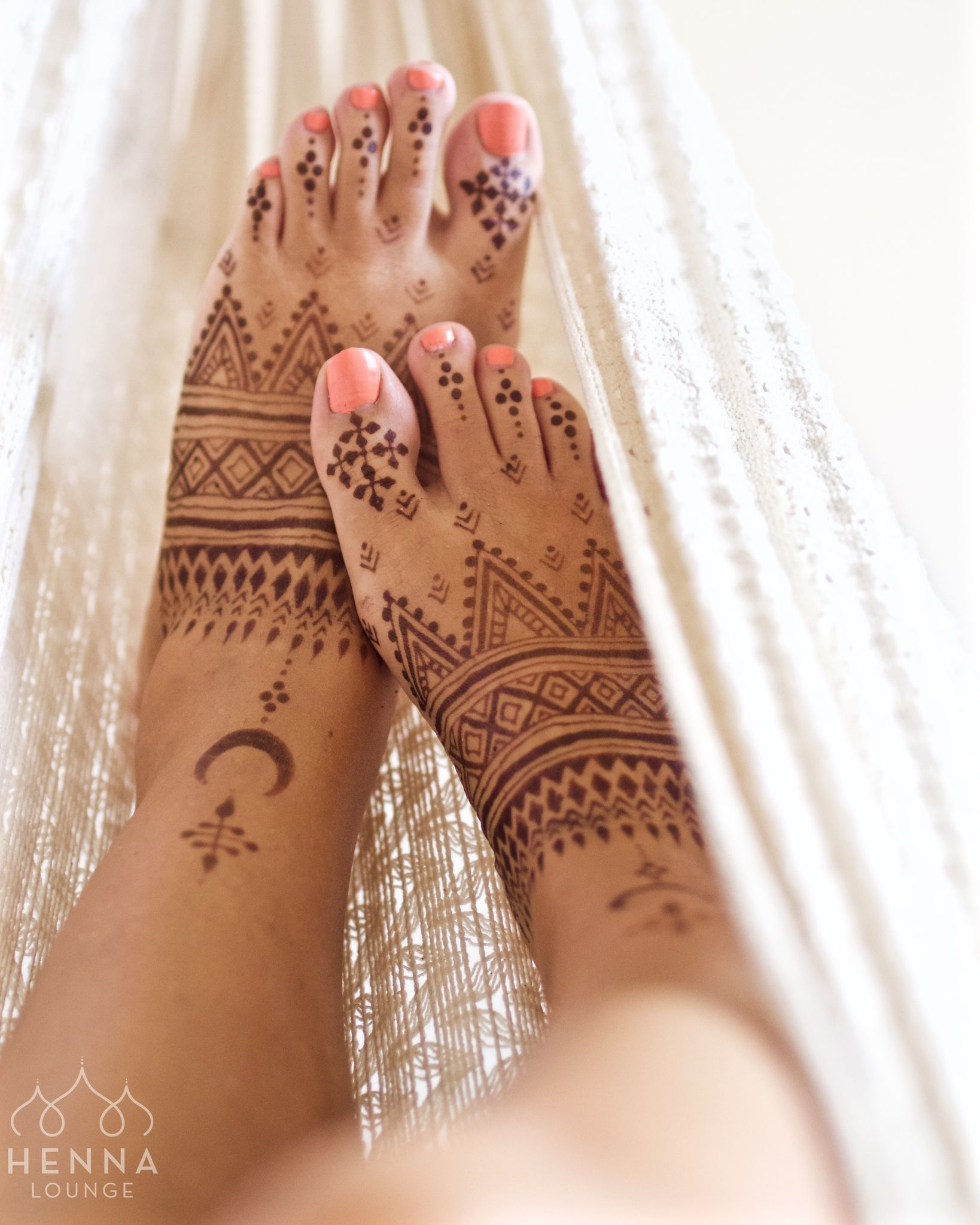 Henna Jagua Blend Just Two Hours After Paste Removal And It S