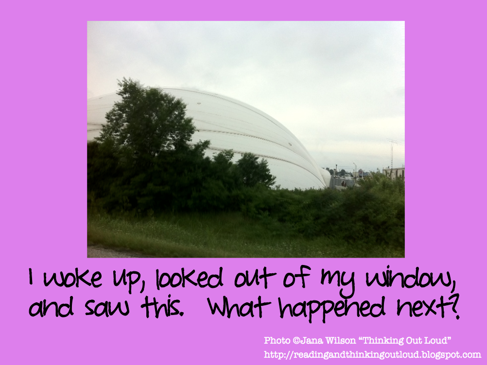 Writing prompts with pictures by thinking out loud