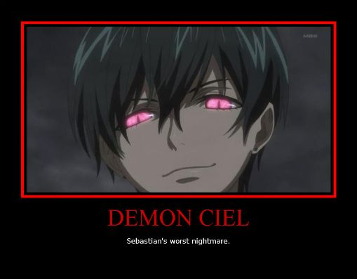 Yes Sebastian Was Very Angry About The Fact That He Cant Eat Ciels