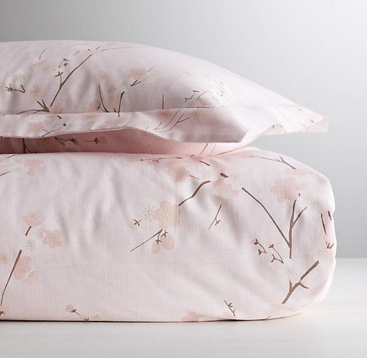 European Cherry Blossom Duvet Cover Rhbaby Bedroom Refresh Girl