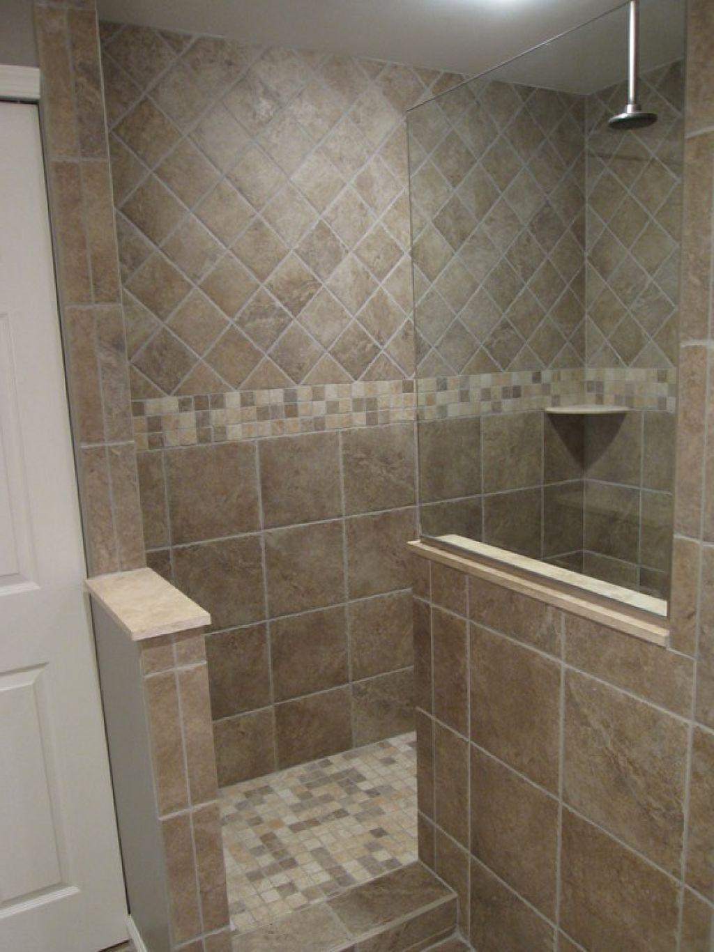 Bathroom The Required Size Of Doorless Walk In Shower Doorless Shower Design Doorless Shower Design Bathroom Layout Bathroom Design Plans