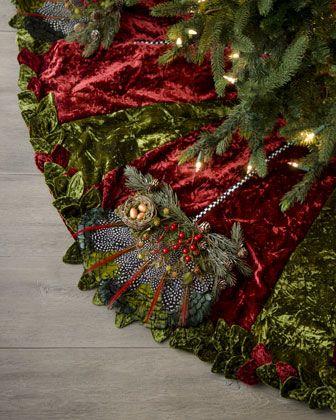 Elegant Christmas Tree Skirts.Pin On Holiday