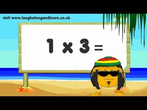 Best 3 Facts Song I Ve Heard Yet Times Tables Learn The