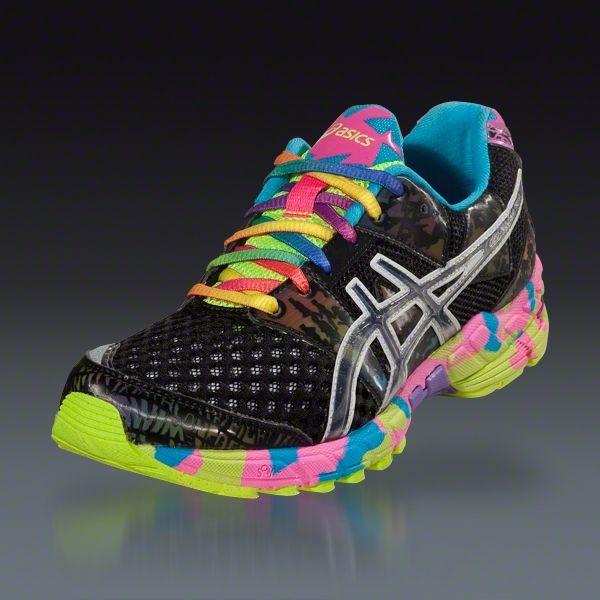 newest 846e2 0f5ae Asics Women s GEL-Noosa Tri 8 - Black Onyx Confetti Running Shoes    Love  these!