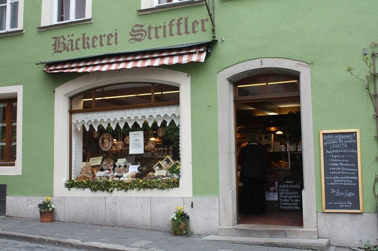 bakeries germany | Bakery storefront in Rothenburg Germany | Bakery Storefronts