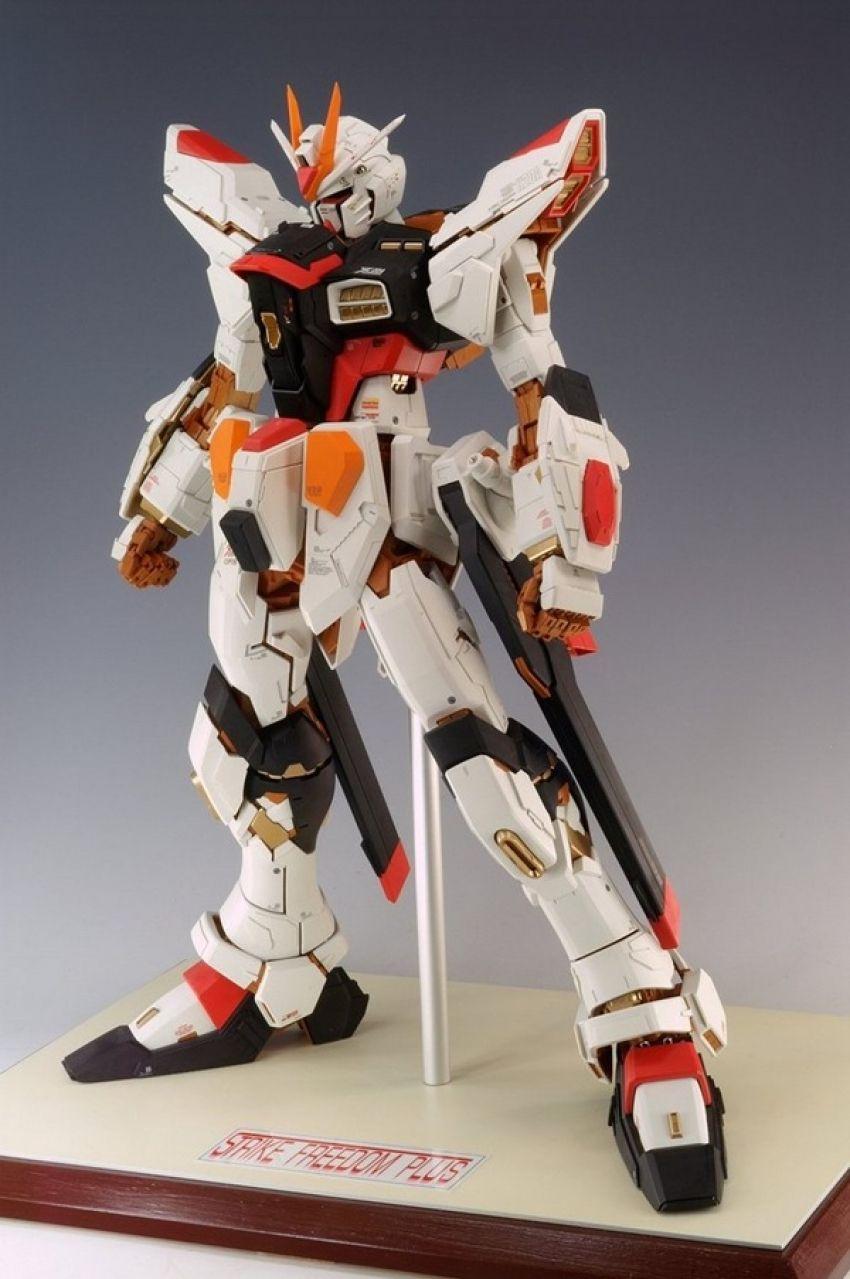Pg Strike Freedom Plus Gundam Model Miniature Figures Model Paint