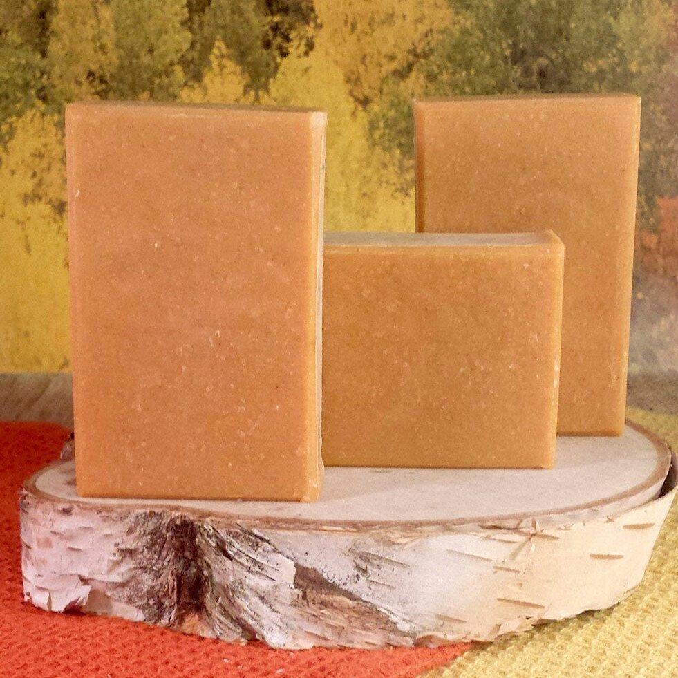 Earl Grey homemade soap