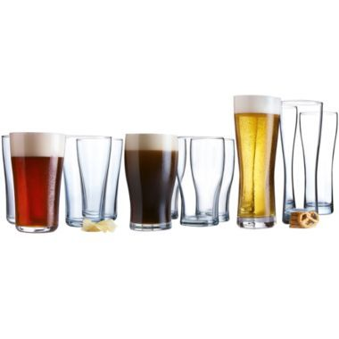 Luminarc® Brewmaster 12-pc. Assorted Glassware Set  found at @JCPenney